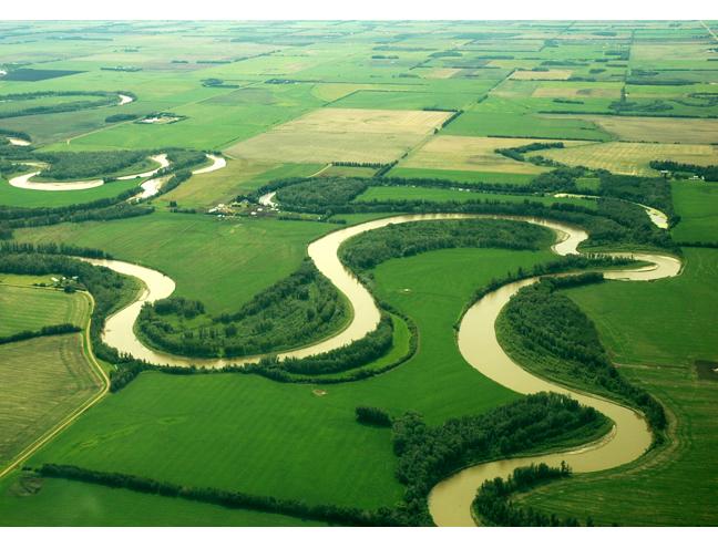 Ciri-ciri geomorfologi lembangan saliran (sungai)
