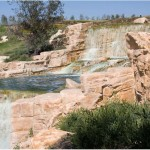 Carlsbad Golf Course Waterfall Side