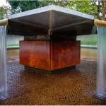 Fontana Civic Center Fountain Underside