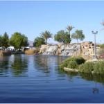 Sun City Aliante Park Waterfall