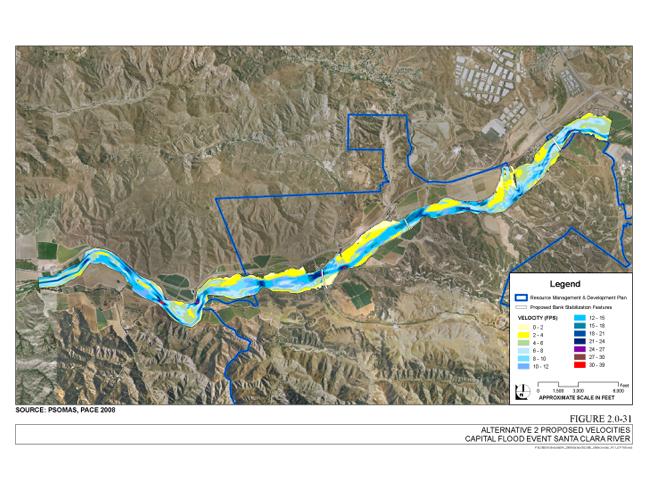 Newhall Ranch Velocity Analysis