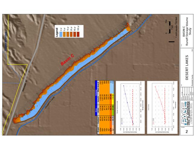 Desert Lakes Volumetric Calculation